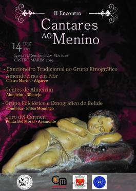 2º Encontro de Cantares ao Menino - Cancioneiro Tradicional Amendoeiras em Flor - Castro Marim